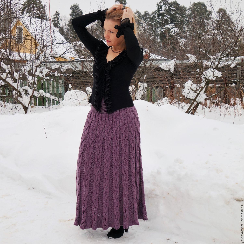 Лила юбки