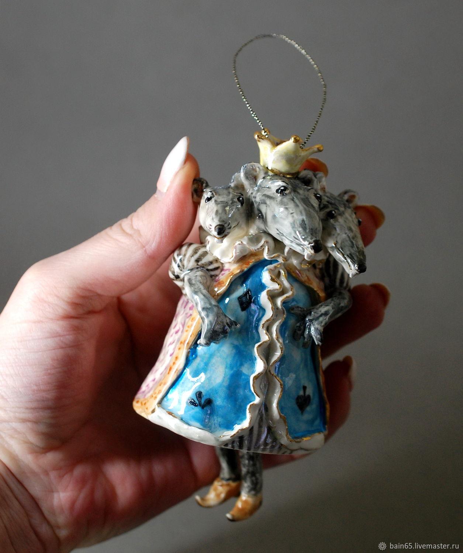 Мышиный король. Статуэтка колокольчик, Колокольчики, Москва,  Фото №1