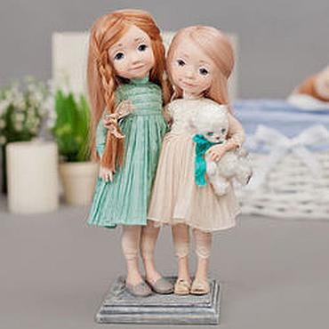 Куклы и игрушки ручной работы. Ярмарка Мастеров - ручная работа Ты моя сестренка. Handmade.