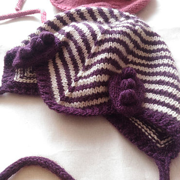 Clothing handmade. Livemaster - original item Hat with ears. Handmade.