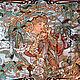 Большой поклонник творчества Альфонса Мухи пожелал украсить фасад своего загородного дома керамическим панно по мотивам полотен известного художника.
