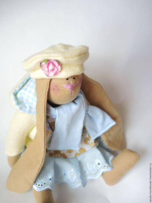 Куклы Тильды ручной работы. Ярмарка Мастеров - ручная работа. Купить Вислоухая Мими встречает весну. Handmade. Лимонный