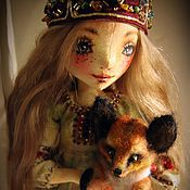 Куклы и игрушки ручной работы. Ярмарка Мастеров - ручная работа Танюшка. Handmade.