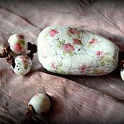 """Колье ручной работы. Ярмарка Мастеров - ручная работа Керамические бусы """"Бабушкин сундучок"""". Handmade."""