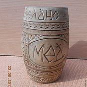 Русский стиль ручной работы. Ярмарка Мастеров - ручная работа бочонок деревянный для мёда. Handmade.