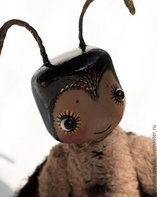 Мишки Тедди ручной работы. Ярмарка Мастеров - ручная работа. Купить Мотылек Матьё. Handmade. Коричневый