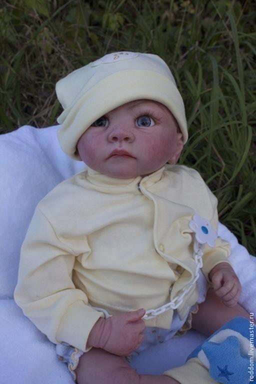 Куклы-младенцы и reborn ручной работы. Ярмарка Мастеров - ручная работа. Купить Продан  reborn мальчик  /девочка. Handmade. Голубой