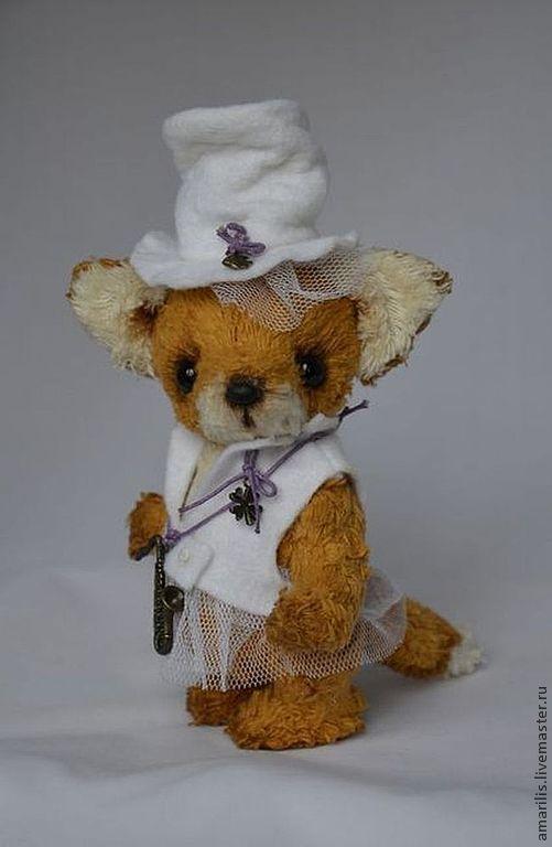 Мишки Тедди ручной работы. Ярмарка Мастеров - ручная работа. Купить Мэгги. Handmade. Рыжий, подарок, тедди, лиса в одежде