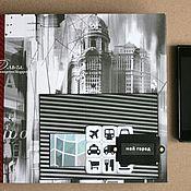 Канцелярские товары ручной работы. Ярмарка Мастеров - ручная работа Альбом Мой город. Handmade.