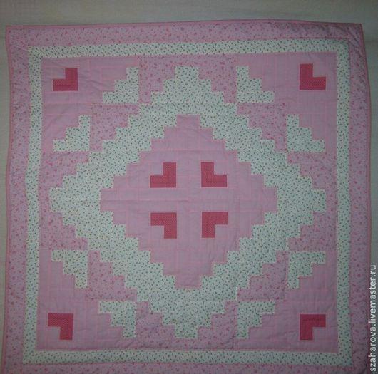 """Пледы и одеяла ручной работы. Ярмарка Мастеров - ручная работа. Купить Лоскутное одеяло для девочки """"Принцесса"""", ручная стёжка. Handmade."""