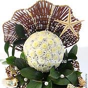 Цветы и флористика ручной работы. Ярмарка Мастеров - ручная работа Жемчужинка. Handmade.