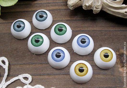 """16мм Глаза кукольные (зеленые) 2шт. """"2907"""", Куклы и игрушки, Москва, Фото №1"""