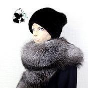 Аксессуары handmade. Livemaster - original item Fur detachable collar boa Fox fur.TC-304. Handmade.