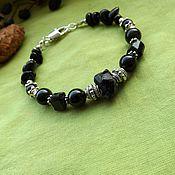 Фен-шуй и эзотерика handmade. Livemaster - original item Bracelet with a Morion and schorl