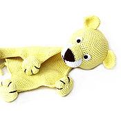Куклы и игрушки handmade. Livemaster - original item Komforter. Knitted komforter Lev. Toy - cloth with a lion.. Handmade.