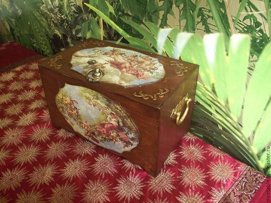 сундук, ларец, короб, сундук для приданого, деревянный сундук, сундучок,подарок,на юбилей, На свадьбу, сундук для игрушек