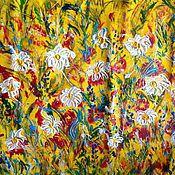 Картины и панно handmade. Livemaster - original item Summer flowers+a gift from the author!. Handmade.