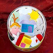 Куклы и игрушки ручной работы. Ярмарка Мастеров - ручная работа Куклы на магнитах, игрушки из фетра. Handmade.
