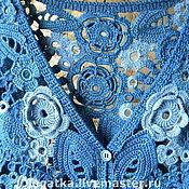 Одежда ручной работы. Ярмарка Мастеров - ручная работа Жакет ирландское кружево.. Handmade.