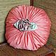 Текстиль, ковры ручной работы. Ярмарка Мастеров - ручная работа. Купить Подушка декоративная Коралл. Handmade. Коралловый, подарок женщине