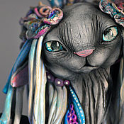 Куклы и игрушки handmade. Livemaster - original item Pachatku, the giver of the water of the sacred lake. Handmade.