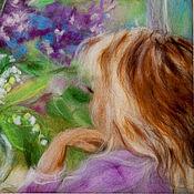 Картины и панно ручной работы. Ярмарка Мастеров - ручная работа За окном - весна.... Handmade.