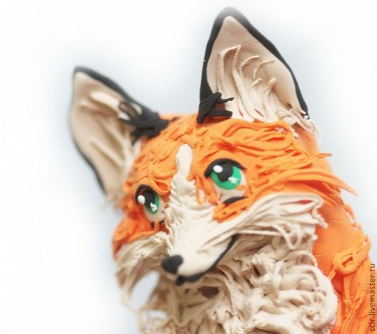 """Игрушки животные, ручной работы. Ярмарка Мастеров - ручная работа. Купить фигурка """"лисичка"""" (лиса игрушка, лиса статуэтка). Handmade."""