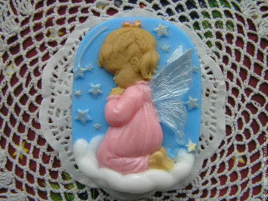 Мыло ручной работы. Ярмарка Мастеров - ручная работа. Купить Молящийся Ангел. Handmade. Мыло ручной работы, рождественский ангел