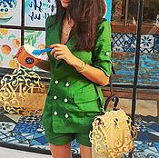 Одежда ручной работы. Ярмарка Мастеров - ручная работа Комплект из льна. Handmade.