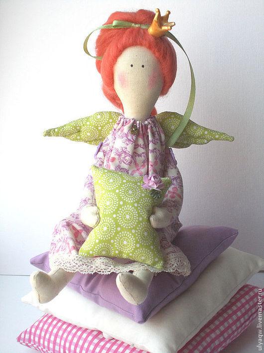 Куклы Тильды ручной работы. Ярмарка Мастеров - ручная работа. Купить Принцесса на горошине - интерьерная игрушка. Handmade. Принцесса на горошине