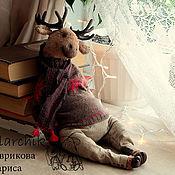 Куклы и игрушки ручной работы. Ярмарка Мастеров - ручная работа Лось Эрхо. Handmade.