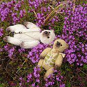 Куклы и игрушки ручной работы. Ярмарка Мастеров - ручная работа Миниатюрный медведь тедди ФОСТЕР. Handmade.
