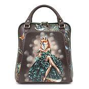 Сумки и аксессуары handmade. Livemaster - original item Bag backpack