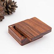 handmade. Livemaster - original item Wooden ring box. Handmade.