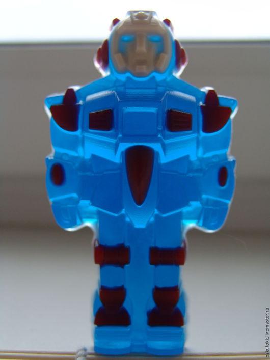 Мыло ручной работы. Ярмарка Мастеров - ручная работа. Купить Мыло Робот. Handmade. Мыло ручной работы, мыло робот