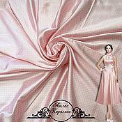 "Материалы для творчества handmade. Livemaster - original item Атлас ""Каролина"" итальянские ткани. Handmade."