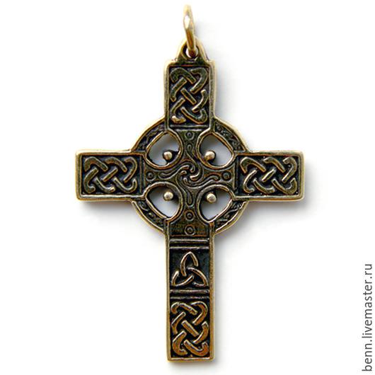 """Кулоны, подвески ручной работы. Ярмарка Мастеров - ручная работа. Купить Кулон """"Кельтский Крест"""". Handmade. Солнце, кельтский, воинский"""