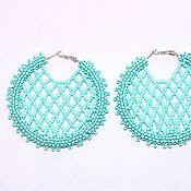 Украшения handmade. Livemaster - original item Oscar de La Renta earrings rings discs. Handmade.