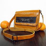 Сумки и аксессуары ручной работы. Ярмарка Мастеров - ручная работа Апельсиновая сумка. Handmade.
