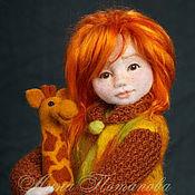 Куклы и игрушки ручной работы. Ярмарка Мастеров - ручная работа Авторская войлочная кукла Ариша. Handmade.