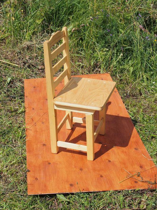 Мебель ручной работы. Ярмарка Мастеров - ручная работа. Купить Скамейка со спинкой и сплошным сиденьем. Handmade. Желтый