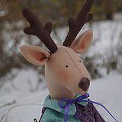 Куклы и игрушки ручной работы. Ярмарка Мастеров - ручная работа Олень в одежде. Handmade.