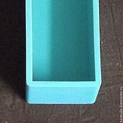 Материалы для творчества ручной работы. Ярмарка Мастеров - ручная работа Форма силиконовая прямоугольная, на 2 л мыла, б/у. Handmade.
