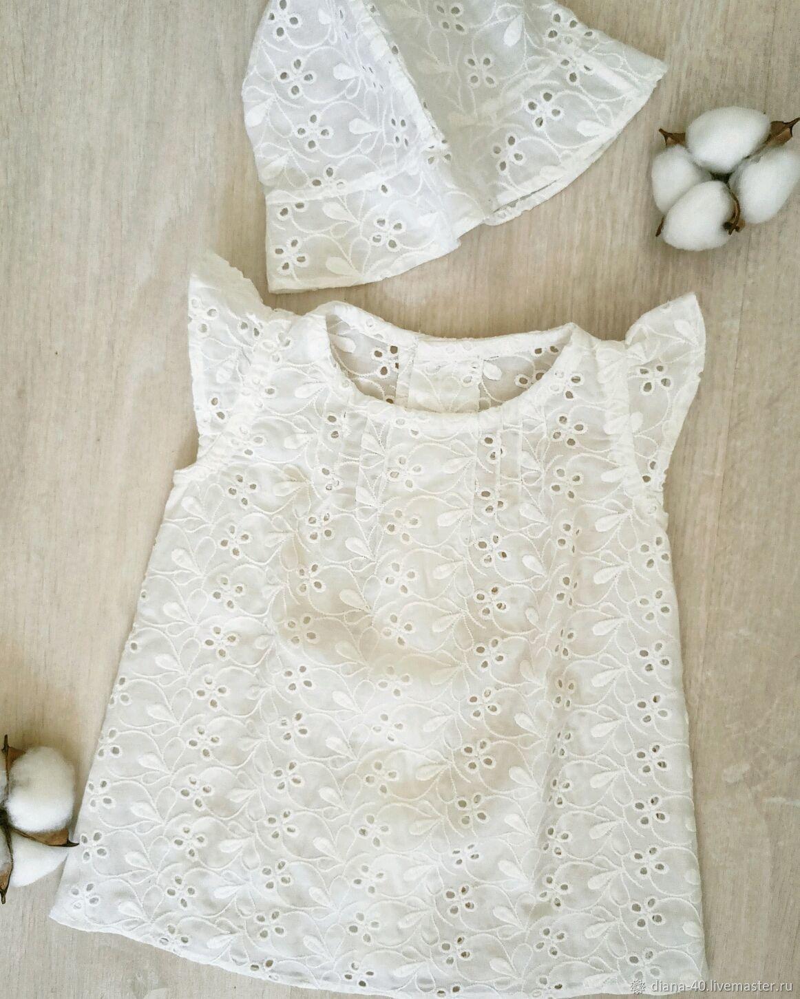 Летнее платье для малышки, Платье, Кронштадт,  Фото №1