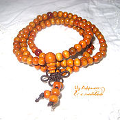 Фен-шуй и эзотерика handmade. Livemaster - original item Beads of sandalwood (white). Handmade.