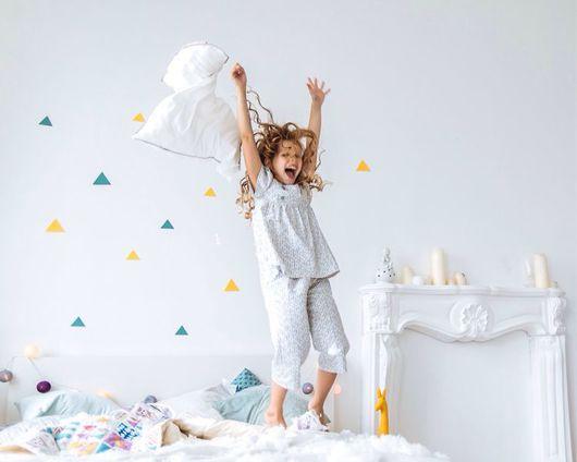 Белье ручной работы. Ярмарка Мастеров - ручная работа. Купить Пижама для девочки. Handmade. Пижама, ночное белье, подарок для девочки