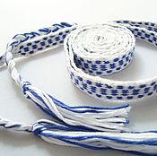 Русский стиль handmade. Livemaster - original item Woven belt