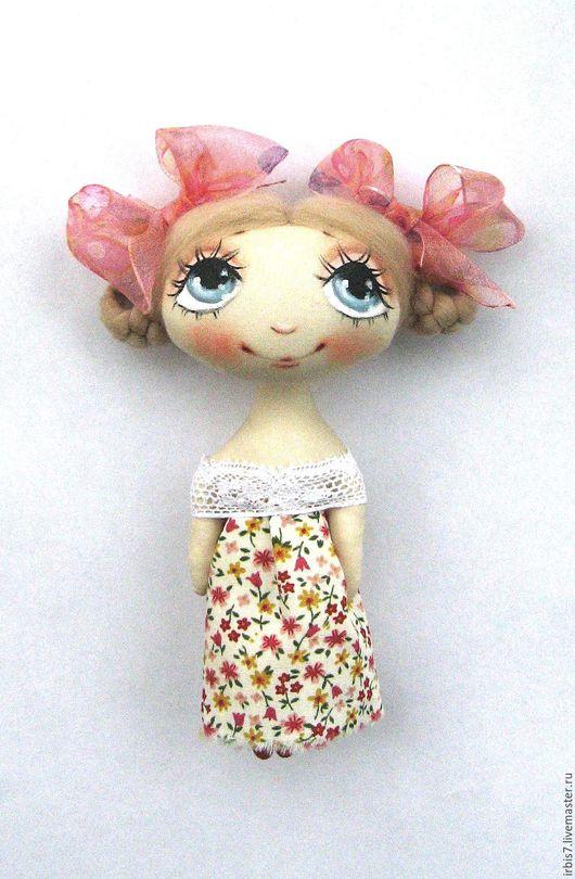 Коллекционные куклы ручной работы. Ярмарка Мастеров - ручная работа. Купить Розовые бантики. Handmade. Розовый, бантики, лето 2016