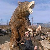 Для дома и интерьера ручной работы. Ярмарка Мастеров - ручная работа Медведь и медвежонок. Handmade.