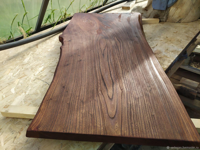 Столешница красивая для барной стойки.Карагач,слэб, Столы, Покров,  Фото №1